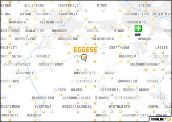 map of Eggese