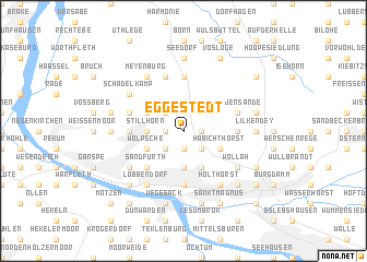 map of Eggestedt