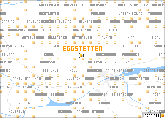 map of Eggstetten