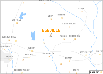 map of Eggville