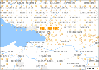 map of Eglisberg
