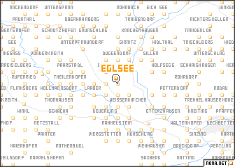 map of Eglsee