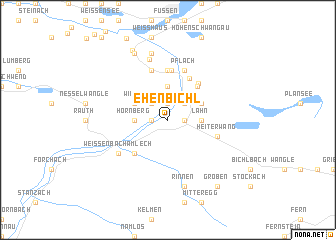map of Ehenbichl