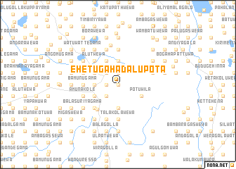 map of Ehetugahadalupota