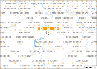 map of Ehrenberg