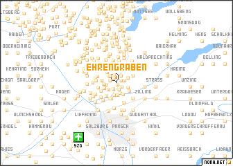 map of Ehrengraben