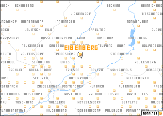 map of Eibenberg