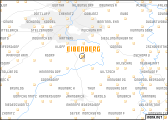map of Eibenberg