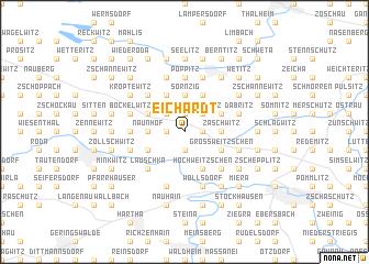 map of Eichardt