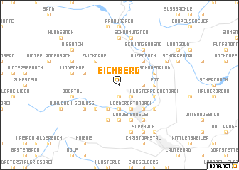 map of Eichberg