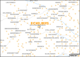 map of Eichelberg