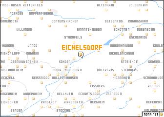 map of Eichelsdorf