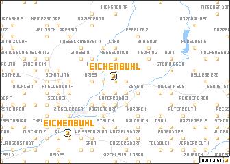 map of Eichenbühl