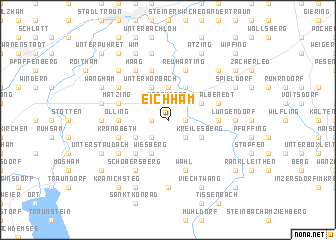 map of Eichham