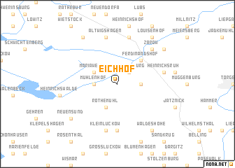 map of Eichhof