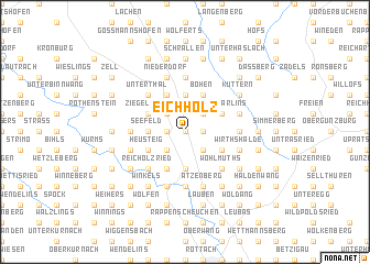 map of Eichholz