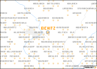 map of Eichitz