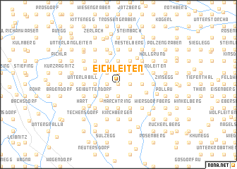 map of Eichleiten