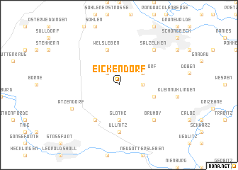 map of Eickendorf