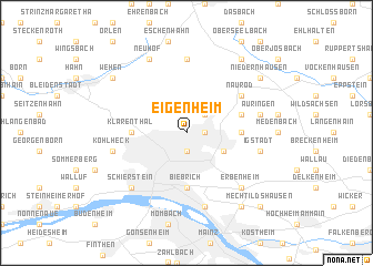 map of Eigenheim