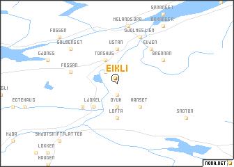 map of Eikli