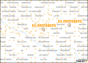 map of Eilmannsberg