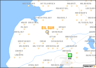 map of Eilsum