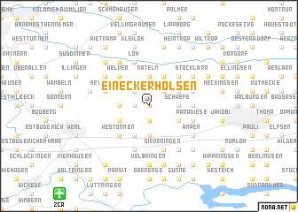 map of Eineckerholsen