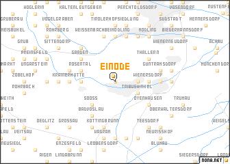 map of Einöde