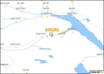 map of Einung