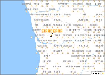 map of Eira de Ana