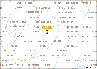 map of Eirado