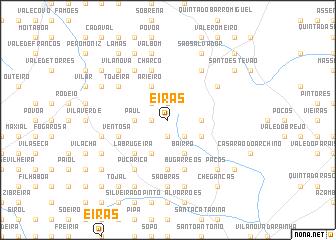 map of Eiras
