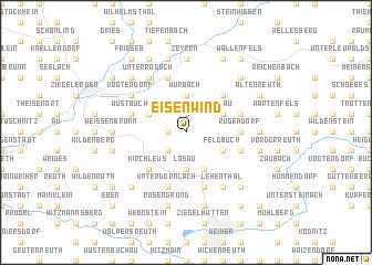 map of Eisenwind
