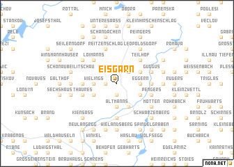 map of Eisgarn