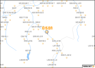map of Eison
