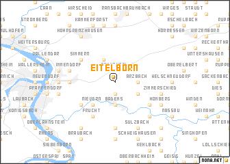 map of Eitelborn