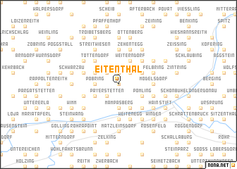map of Eitenthal