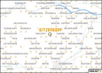 map of Eitzendorf