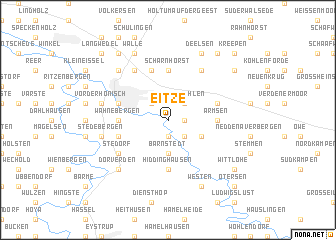 map of Eitze