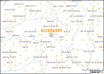 map of Eixendorf