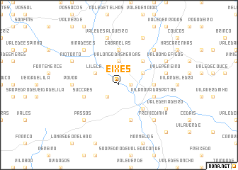 map of Eixes