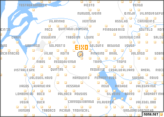 map of Eixo