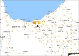 map of Eiyawan