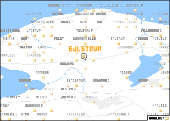 map of Ejlstrup