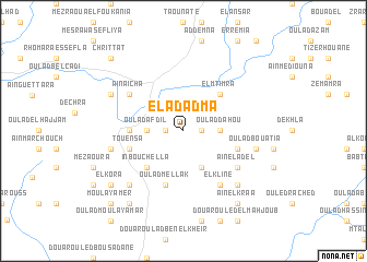 map of El Adadma