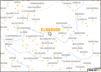 map of El Adouma