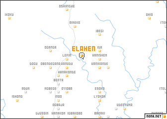 map of Elahen