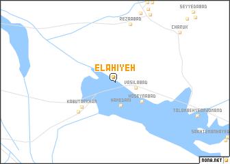 map of Elāhīyeh