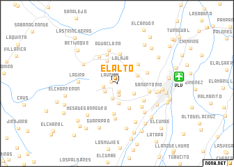 map of El Alto